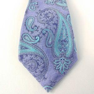 Gorgeous Nordstrom Silk Paisley Tie